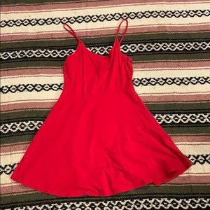 Little red dress from Forever 21!